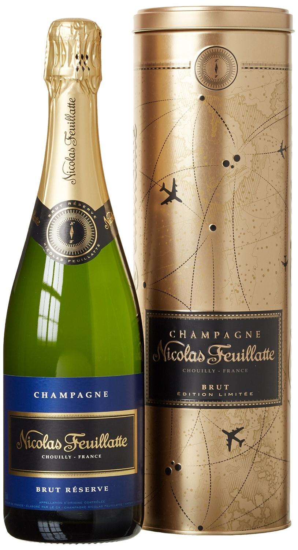 champagne nicolas feuillatte brut reserve edition limitée