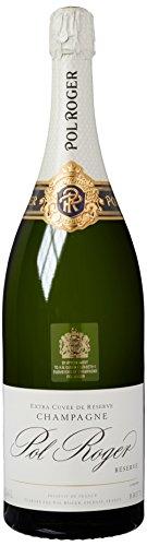 Champagne Pol Roger White Foil Brut, Jeroboam, 1er Pack (1 x 3 l) - 1