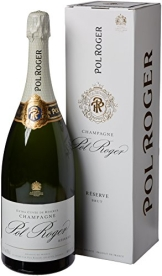 Champagne Pol Roger White Foil Brut, Magnum, im Etui, 1er Pack (1 x 1.5 l) - 1