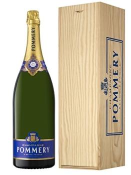 Champagne Pommery Brut Royal Jéroboam in Holzkiste (1 x 3 l) - 1