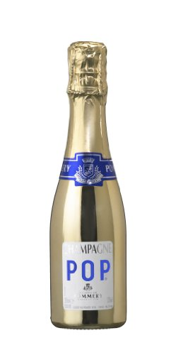 Champagne Pommery Gold Pop Disco Piccolo (1 x 0.2 l) - 1