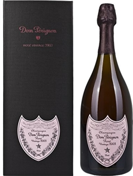 Dom Pérignon Rosé Vintage 2003 mit Geschenkverpackung (1 x 0.75 l) - 1