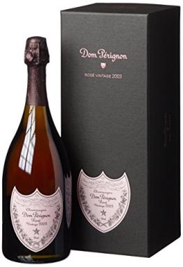 Dom Perignon Vintage Rosé 2003 Champagner mit Geschenkverpackung (1 x 0.75 l) - 1