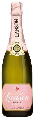 Lanson Rose Label Champagner