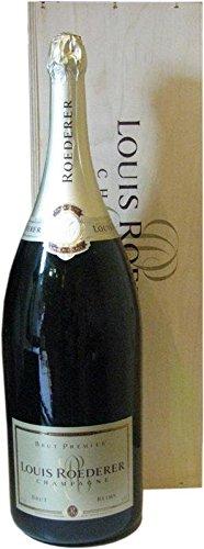 Louis Roederer Brut Premier Champagner 6,0l Grossflasche incl. Holzkiste - 1