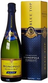 Monopole HeidsieckBlueTop Brut Champagner mit Geschenkverpackung (1 x 0.75 l) - 1