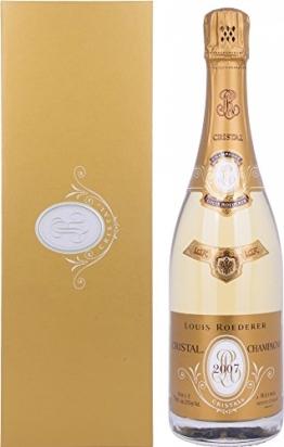Roederer Louis Cristal Brut Champagner 2007 plus GB Champagner (1 x 0.75 l) - 1