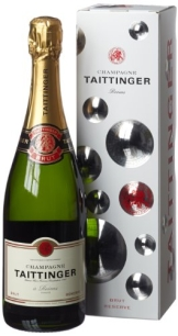 Taittinger Brut Reserve Pinot Noir mit Geschenkverpackung (1 x 0.75 l) - 1