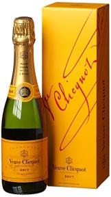 Veuve Clicquot Champagner Brut mit Geschenkverpackung (1 x 0.375 l) - 1