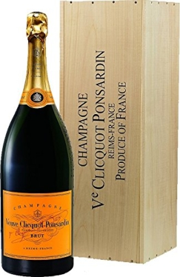 Veuve Clicquot Yellow Label Mathusalem in Holzkiste (1 x 6 l) - 1